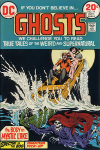 Cover Thumbnail for Ghosts (DC, 1971 series) #19