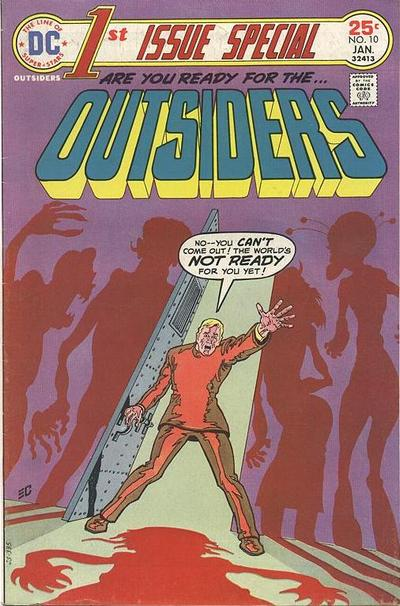 Cover for 1st Issue Special (DC, 1975 series) #10