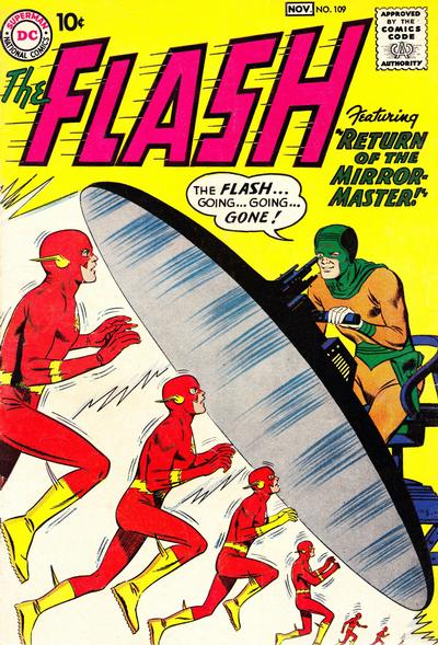 Cover for The Flash (1959 series) #109