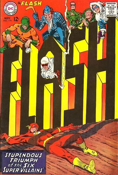 Cover for The Flash (DC, 1959 series) #174