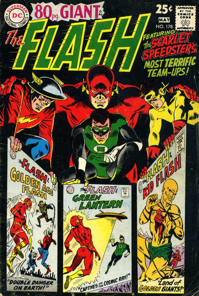 Cover for The Flash (DC, 1959 series) #178