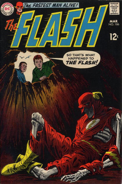 Cover for The Flash (DC, 1959 series) #186