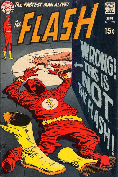 Cover for The Flash (DC, 1959 series) #191