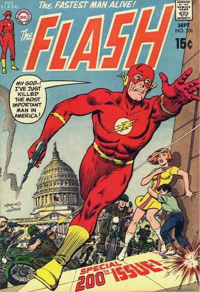 Cover for The Flash (1959 series) #200
