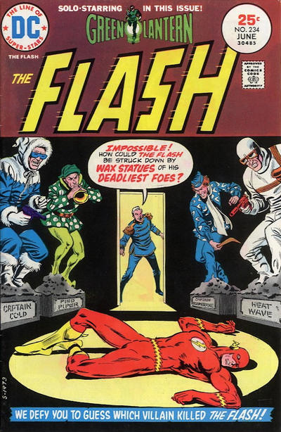 Cover for The Flash (DC, 1959 series) #234