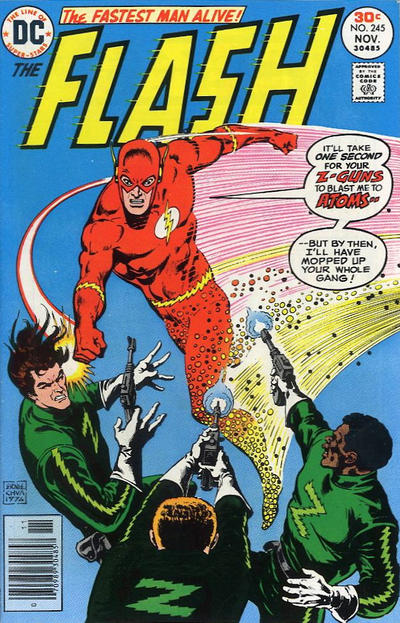 Cover for The Flash (DC, 1959 series) #245