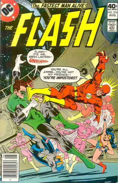 Cover for The Flash (1959 series) #276