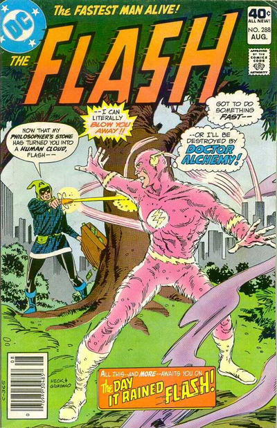 Cover for The Flash (DC, 1959 series) #288