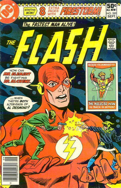 Cover for The Flash (1959 series) #289