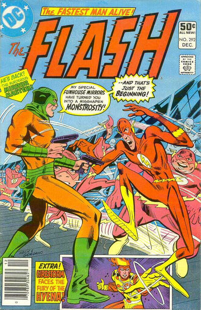 Cover for The Flash (DC, 1959 series) #292