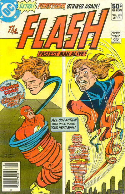 Cover for The Flash (1959 series) #296