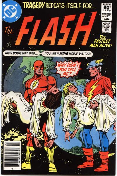 Cover for The Flash (DC, 1959 series) #305