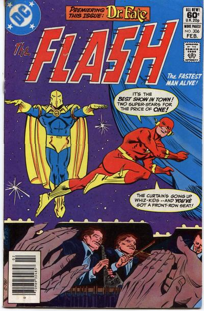 Cover for The Flash (DC, 1959 series) #306