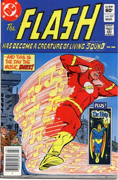 Cover for The Flash (DC, 1959 series) #307