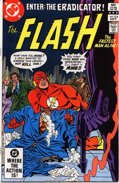 Cover for The Flash (DC, 1959 series) #314