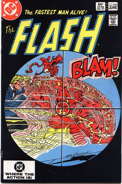 Cover for The Flash (DC, 1959 series) #322 [Newsstand]