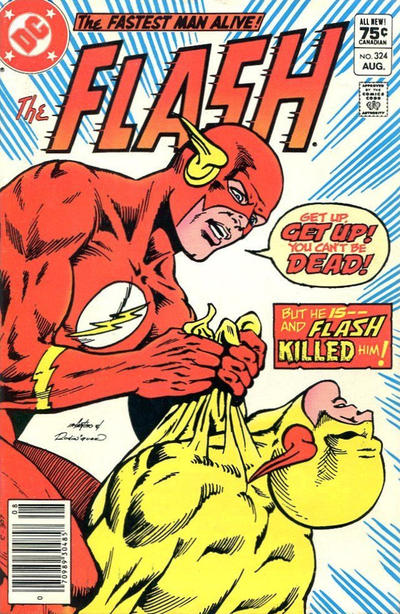 Cover for The Flash (DC, 1959 series) #324 [Newsstand]