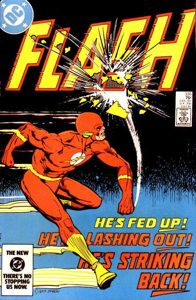 Cover for The Flash (DC, 1959 series) #335 [direct-sales]