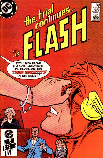 Cover for The Flash (1959 series) #345