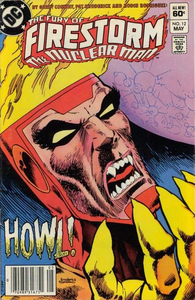 Cover for The Fury of Firestorm (DC, 1982 series) #12 [Direct-Sales]