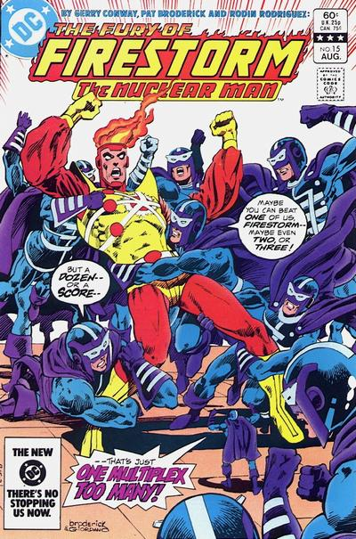 Cover for The Fury of Firestorm (1982 series) #15 [Newsstand]