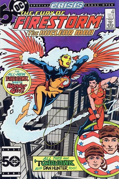 Cover for The Fury of Firestorm (1982 series) #42