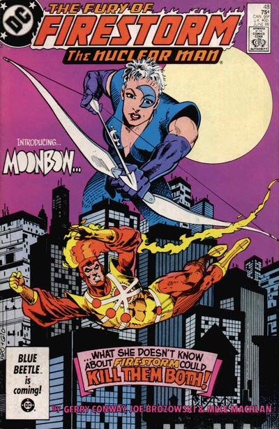 Cover for The Fury of Firestorm (1982 series) #48