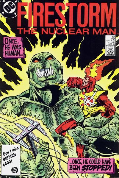Cover for The Fury of Firestorm (1982 series) #52 [Direct]