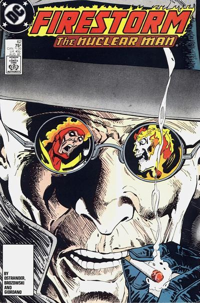 Cover for The Fury of Firestorm (DC, 1982 series) #62 [Newsstand Edition]