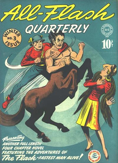 Cover for All-Flash (DC, 1941 series) #3