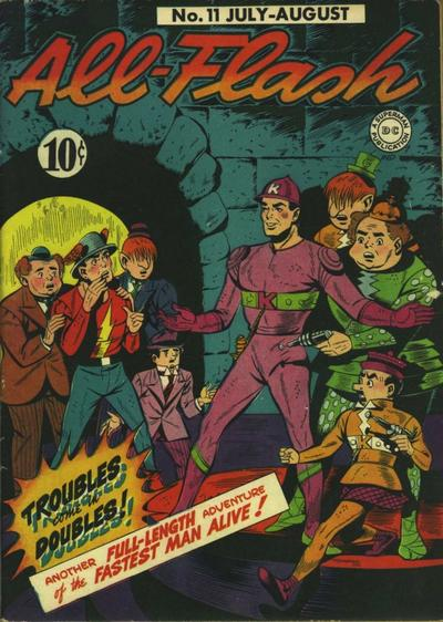Cover for All-Flash (DC, 1941 series) #11