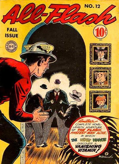 Cover for All-Flash (DC, 1941 series) #12