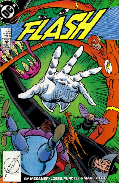 Cover for Flash (1987 series) #23