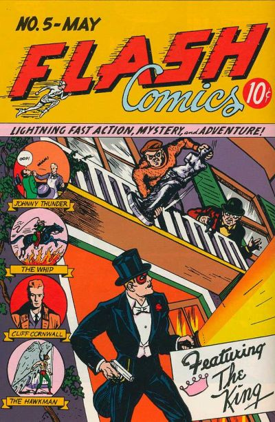 Cover for Flash Comics (DC, 1940 series) #5