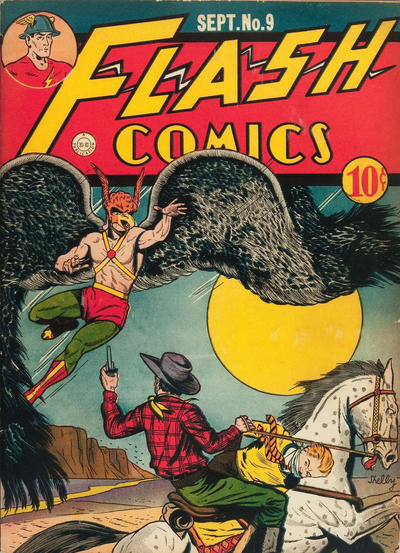 Cover for Flash Comics (DC, 1940 series) #9