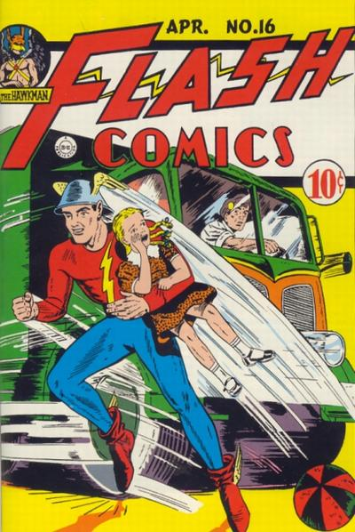 Cover for Flash Comics (DC, 1940 series) #16