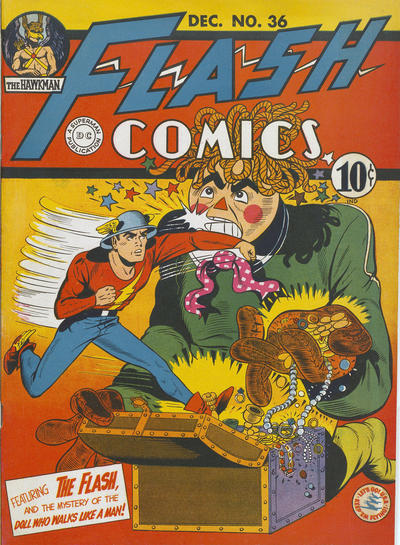 Cover for Flash Comics (DC, 1940 series) #36