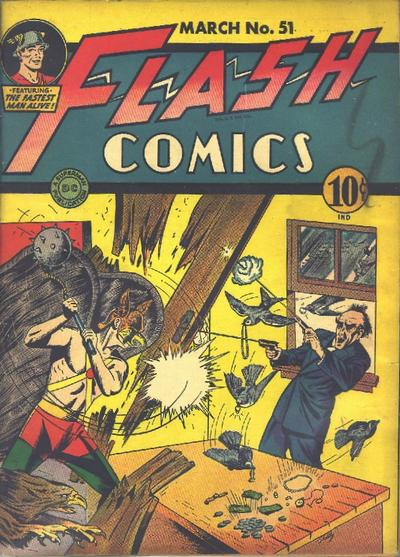 Cover for Flash Comics (DC, 1940 series) #51