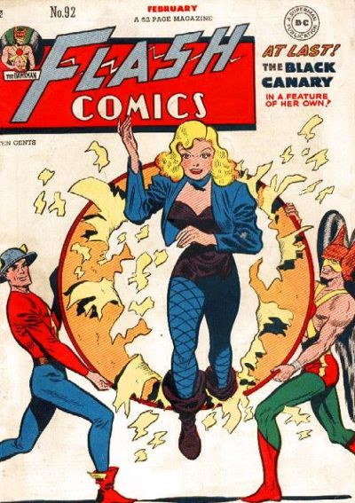 Cover for Flash Comics (1940 series) #92