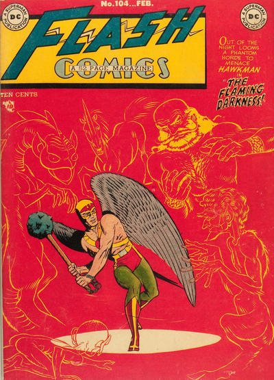 Cover for Flash Comics (DC, 1940 series) #104