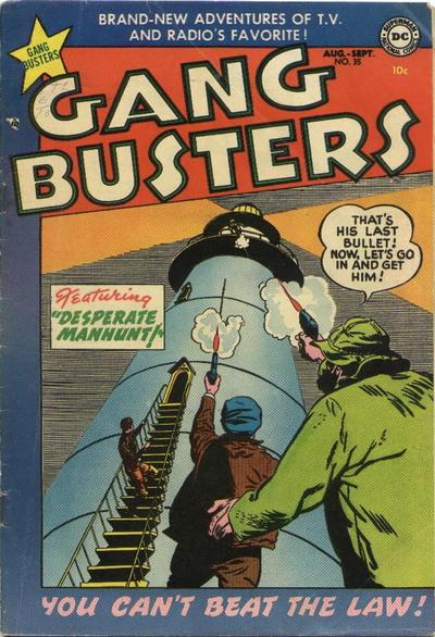 Cover for Gang Busters (DC, 1947 series) #35