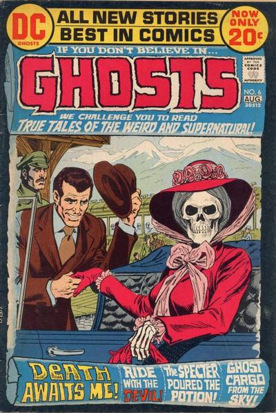 Cover for Ghosts (DC, 1971 series) #6