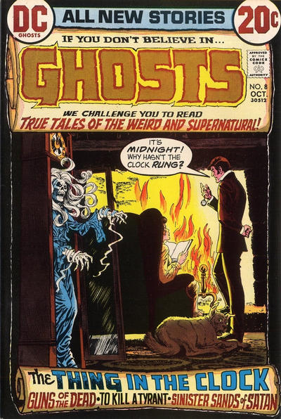 Cover for Ghosts (1971 series) #8