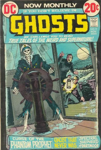 Cover for Ghosts (DC, 1971 series) #9