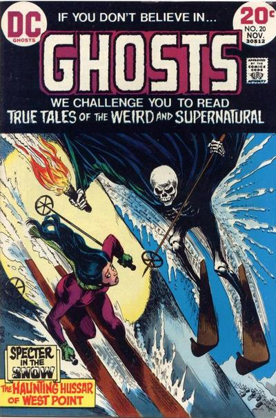Cover for Ghosts (DC, 1971 series) #20