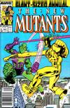 Cover for The New Mutants Annual (Marvel, 1984 series) #3