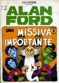Cover Thumbnail for Alan Ford (Editoriale Corno, 1969 series) #78