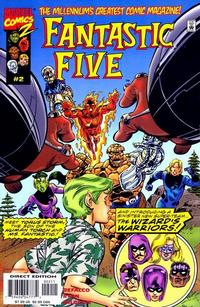 Cover Thumbnail for Fantastic Five (Marvel, 1999 series) #2 [Regular Edition]