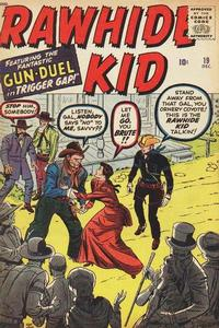 Cover Thumbnail for The Rawhide Kid (Marvel, 1960 series) #19
