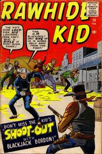 Cover Thumbnail for The Rawhide Kid (Marvel, 1960 series) #20